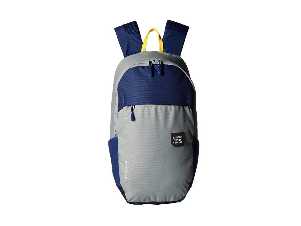 Herschel Supply Co. - Mammoth Medium (Quarry/Blue Print) Backpack Bags
