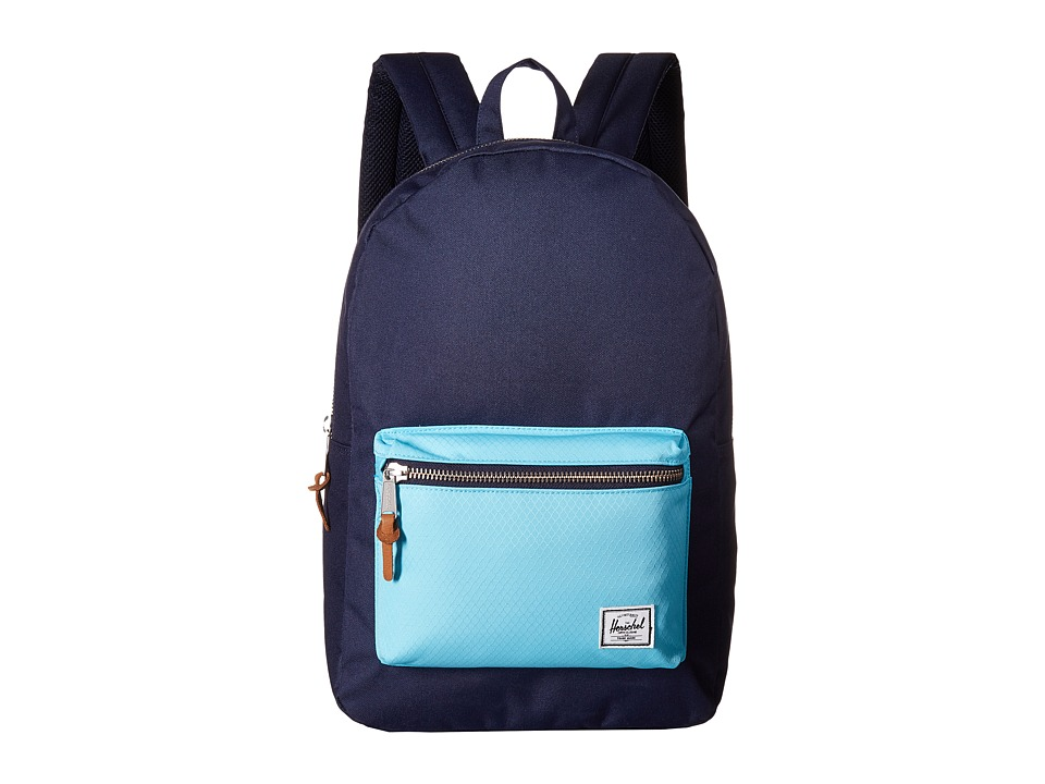 Herschel Supply Co. - Settlement (Peacoat/Bachelor Button) Backpack Bags