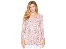 Nally & Millie Nally & Millie Ditsy Pink Floral Print Tunic