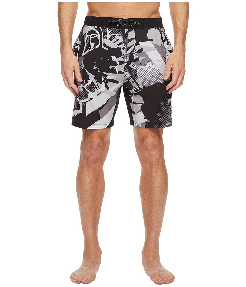 Nike - Breaker 7 Volley Shorts (Black) Mens Swimwear