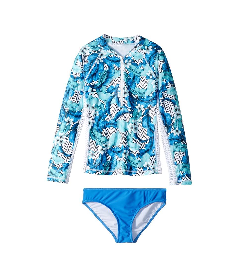 Seafolly Kids - Jungle Geo Long Sleeve Surf Set