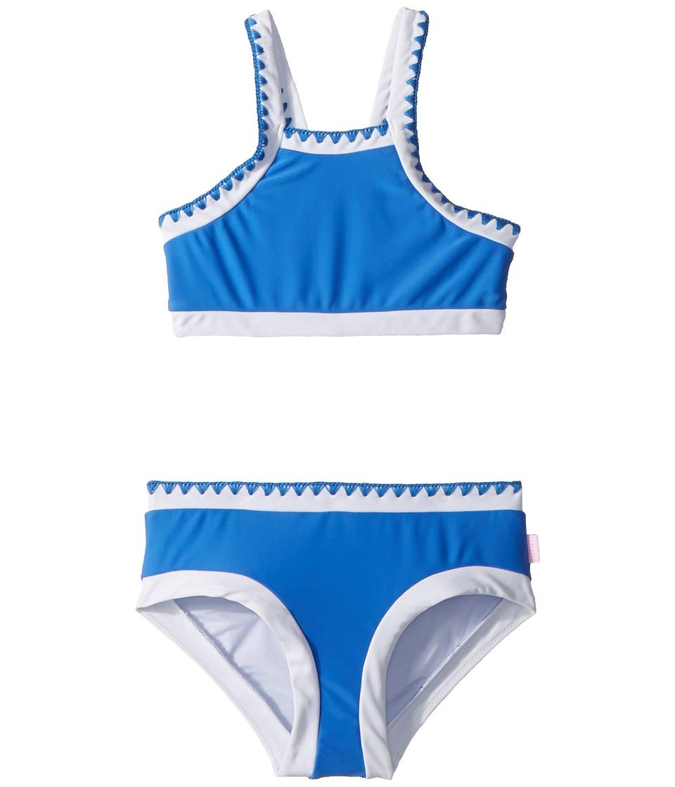 Seafolly Kids Sapphire Coast Crochet Tankini Set (Little Kids/Big Kids) (Hawaii Blue) Girl