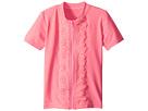 Seafolly Kids Sweet Summer Short Sleeve Zip Front Rashie (Infant/Toddler/Little Kids)