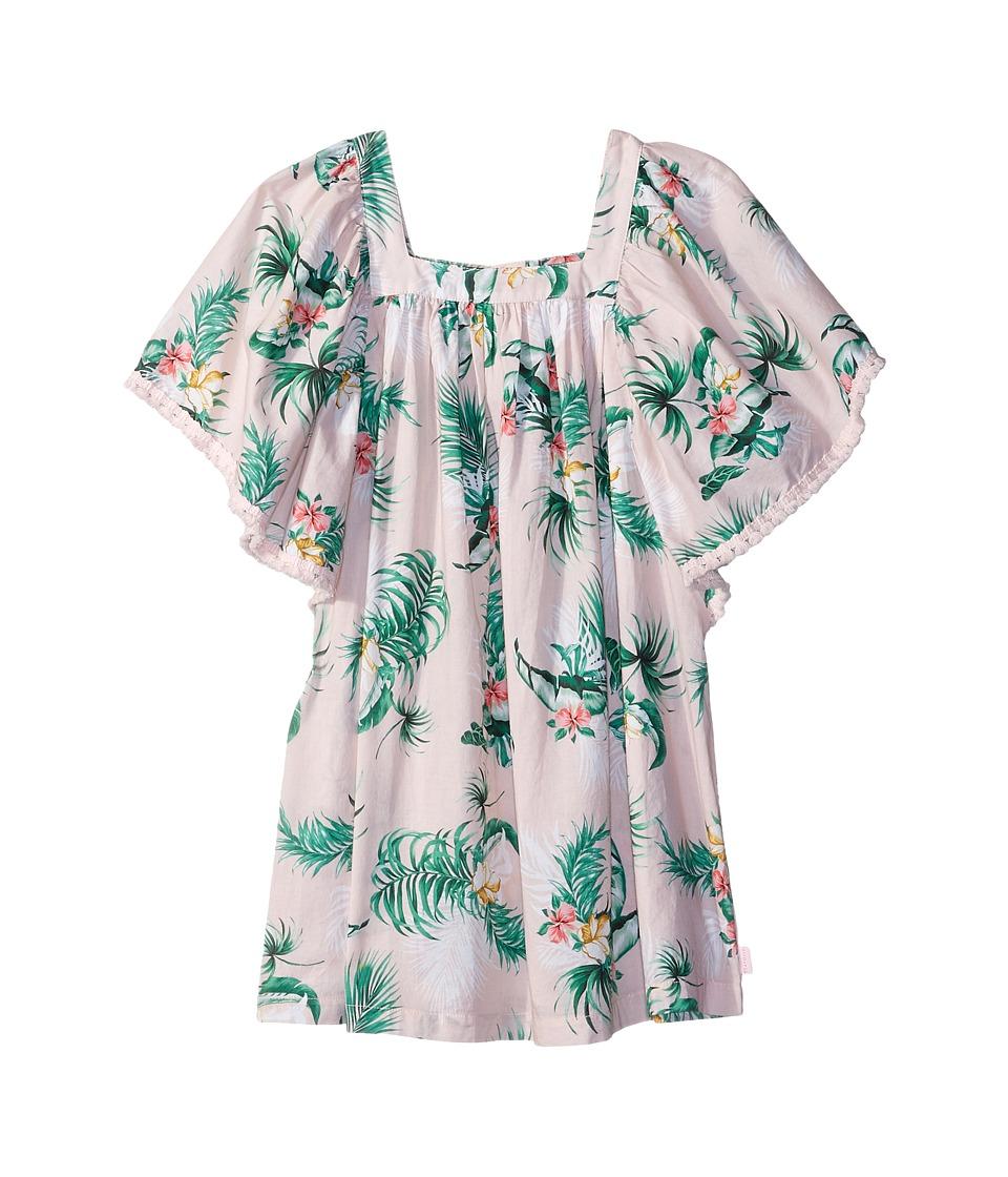 Seafolly Kids Hawaiian Rose Angel Dress Cover-Up (Toddler/Little Kids) (Hawaii Pink) Girl
