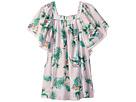 Seafolly Kids Hawaiian Rose Angel Dress Cover-Up (Toddler/Little Kids)
