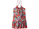 Seafolly Kids Jungle Paradise Fringing Dress Cover-Up (Big Kids)