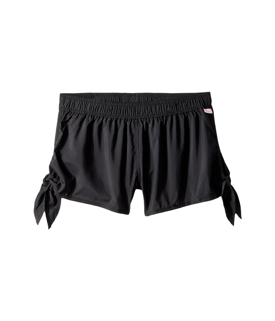 Seafolly Kids Summer Essentials Tie Side Boardie (Big Kids) (Black) Girl