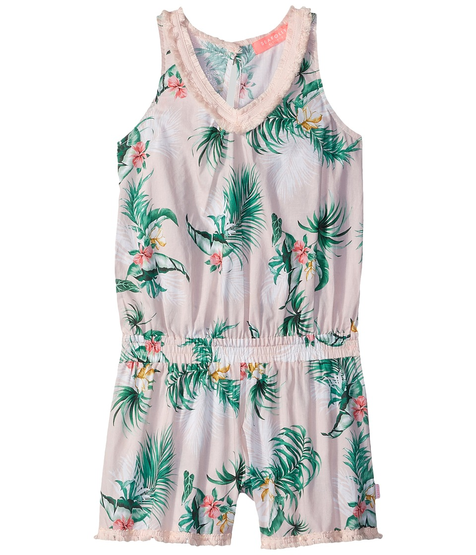 Seafolly Kids - Hawaiian Rose Fringing Jumpsuit Cover