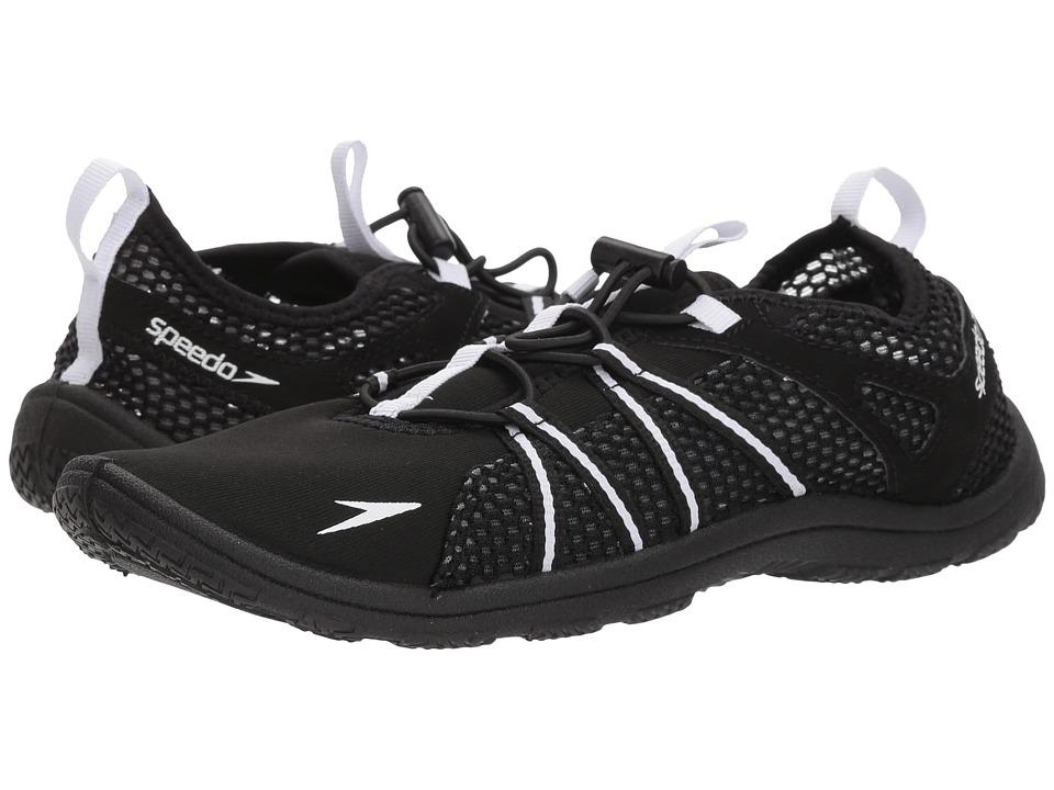 Speedo Seaside Lace (Black/White) Women's Shoes