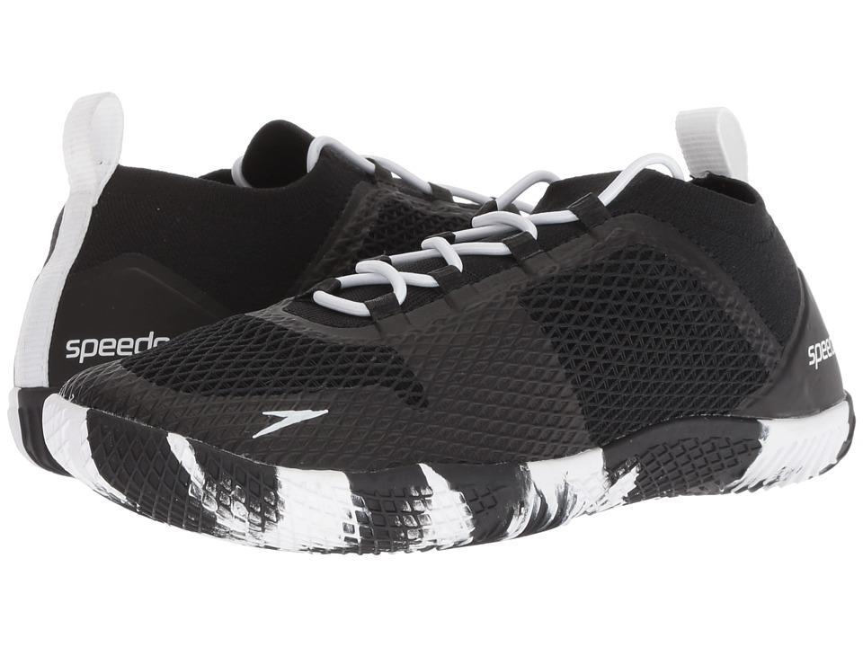 Speedo Fathom AQ (Black/White) Women's Shoes