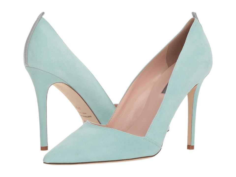 SJP by Sarah Jessica Parker - Rampling (Pistachio Suede) Womens Shoes