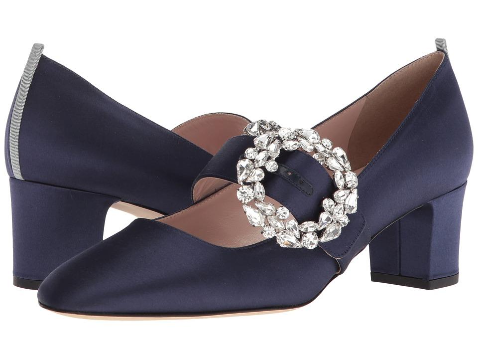 SJP by Sarah Jessica Parker Cosette (Twilight Satin) Women's Shoes