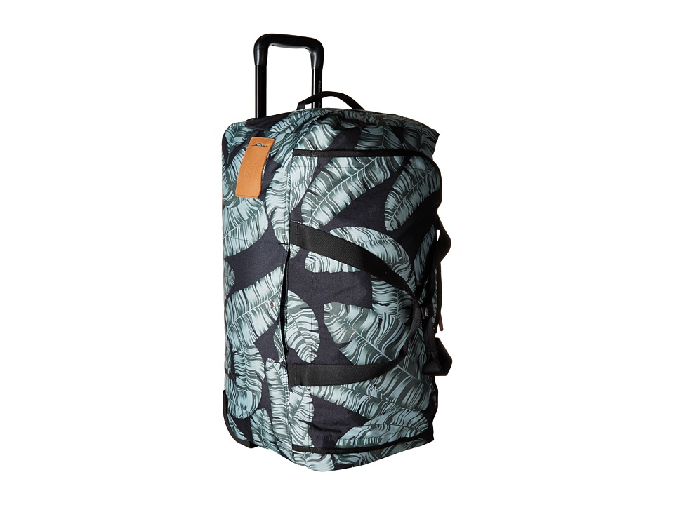 Herschel Supply Co. - Wheelie Outfitter (Black Palm) Carry on Luggage