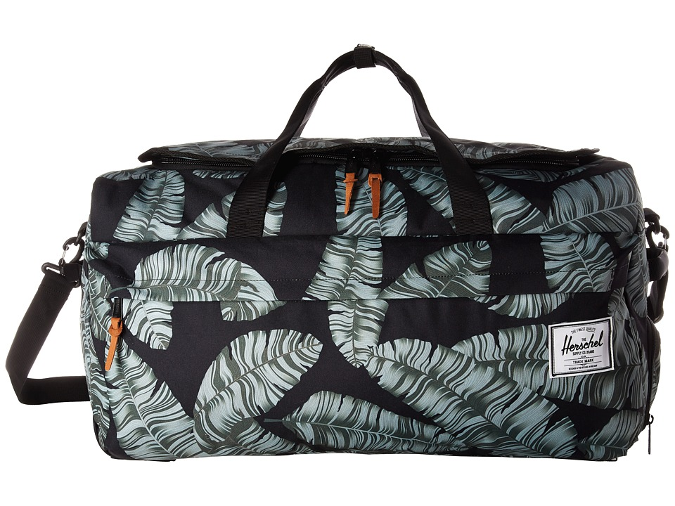 Herschel Supply Co. - Outfitter (Black Palm) Duffel Bags