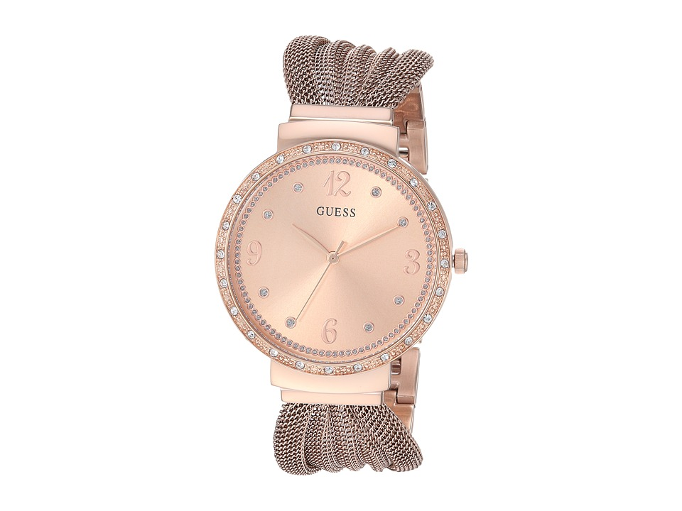 GUESS - U1083L3 (Rose Gold/Bronze) Watches
