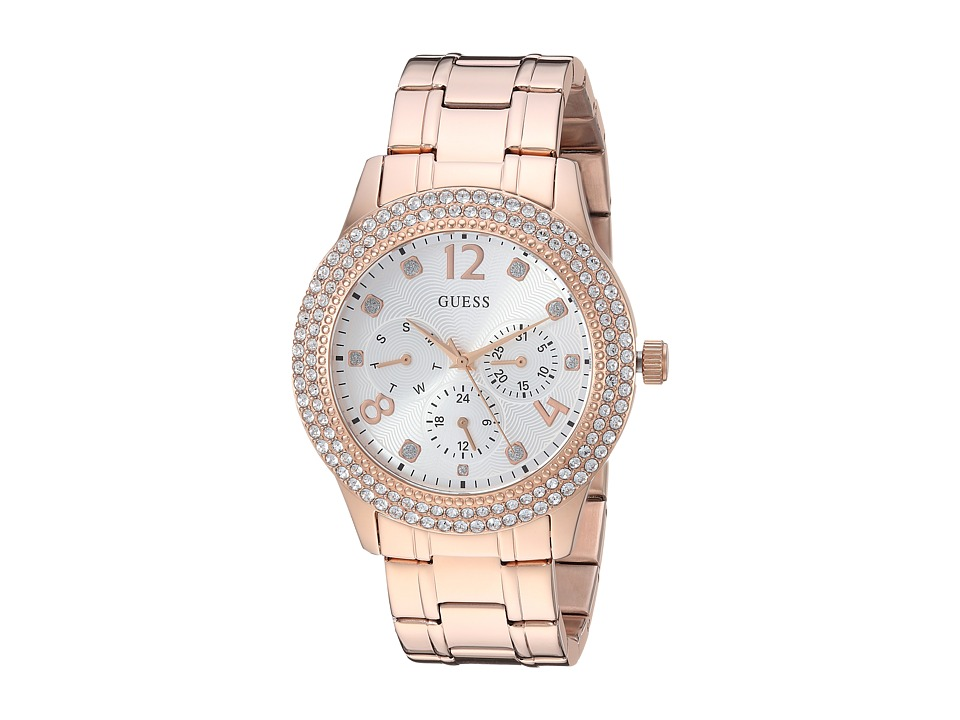 GUESS - U1097L3 (Rose Gold/Bronze) Watches