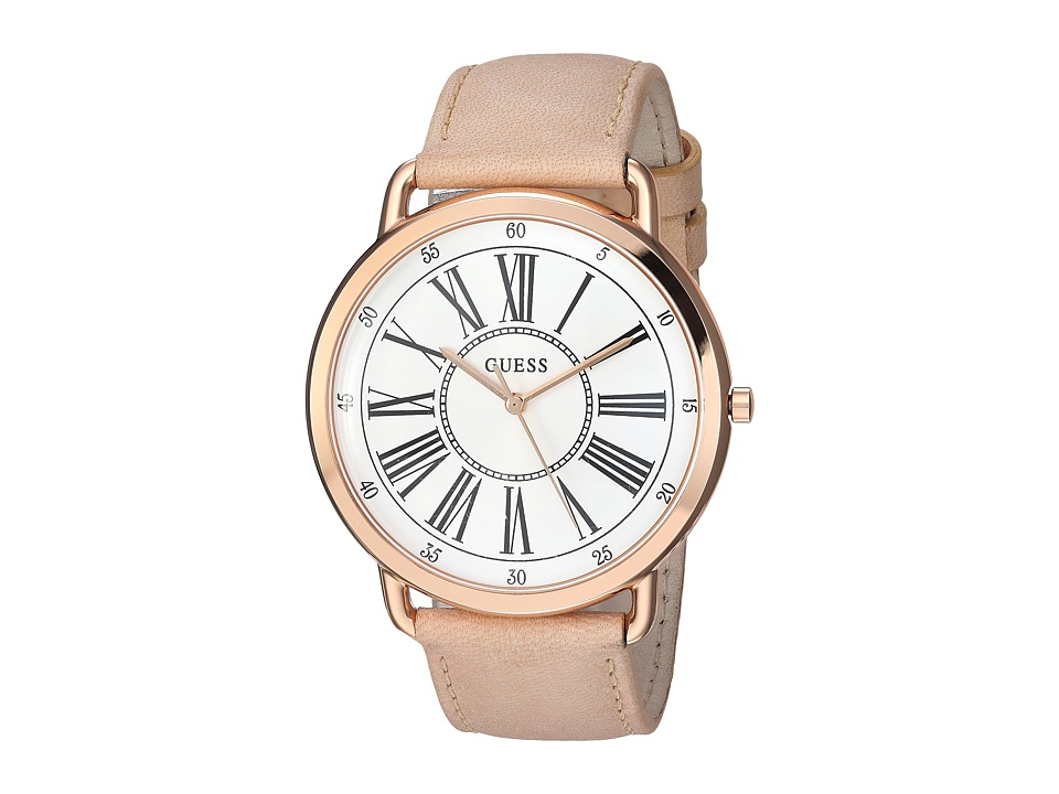 GUESS - U1068L5 (Rose Gold/Bronze) Watches