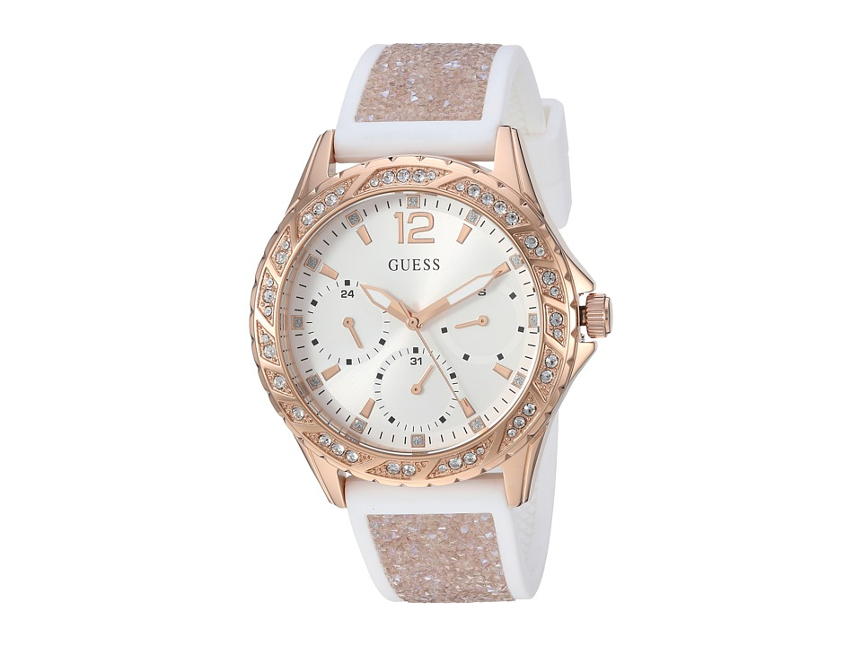 GUESS - U1096L2 (Rose Gold/Bronze) Watches
