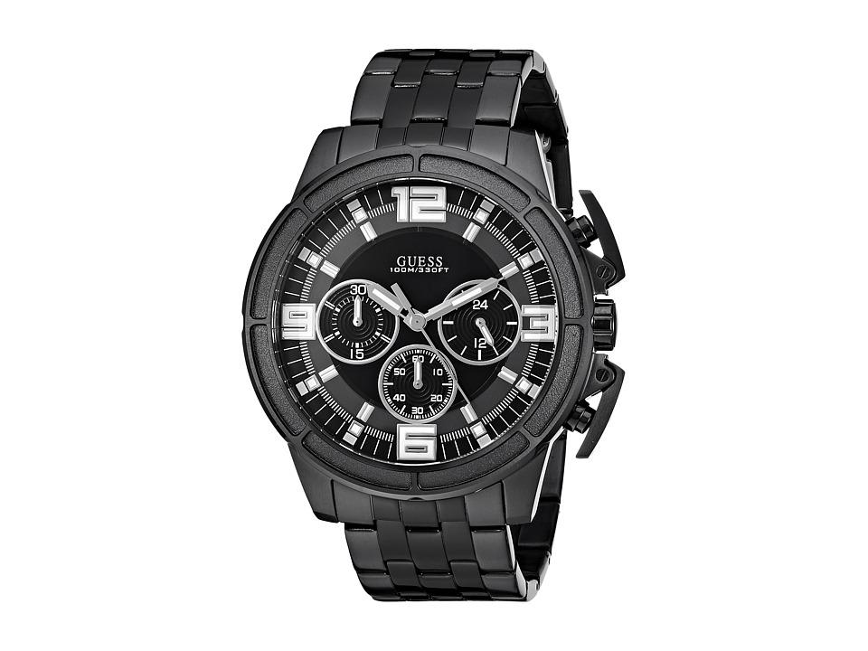 GUESS - U1114G1 (Black/Gunmetal) Watches