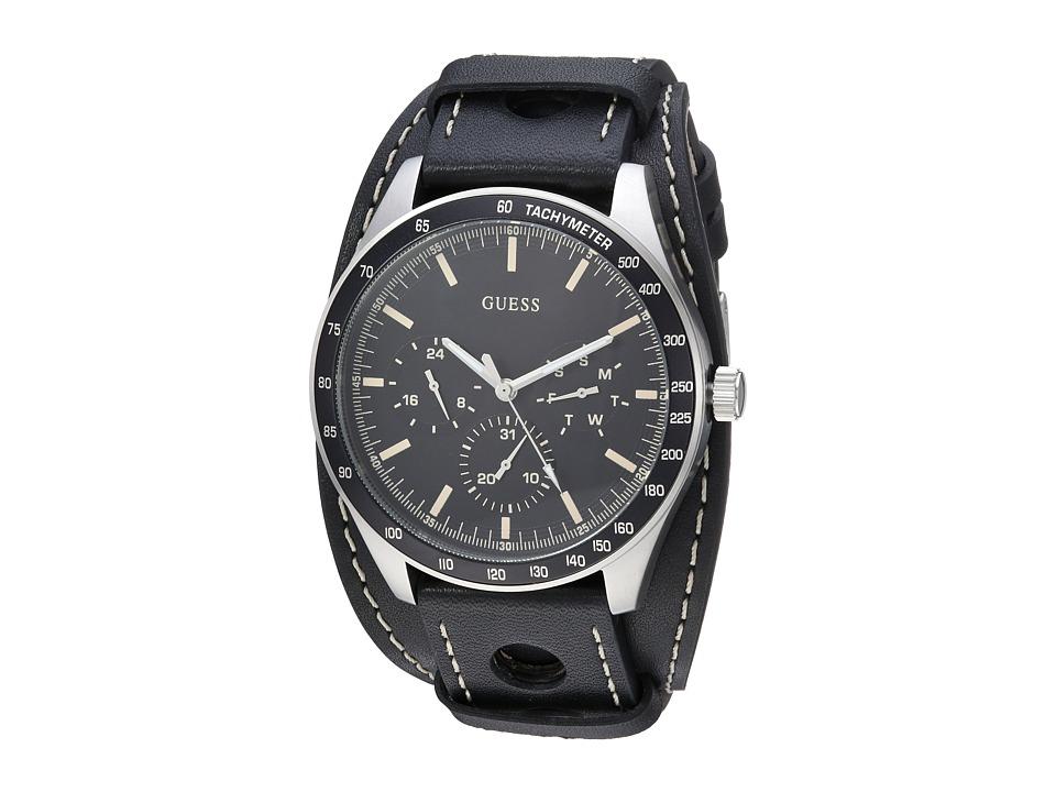 GUESS - U1100G1 (Black/Gunmetal) Watches