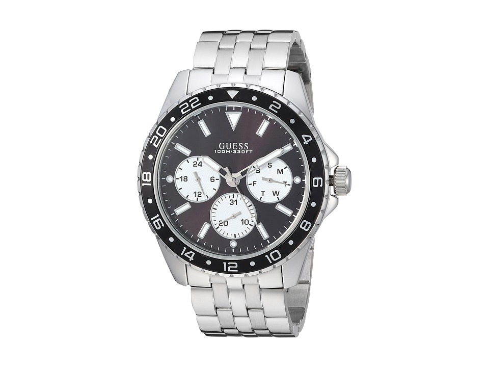 GUESS - U1107G1 (Silver) Watches