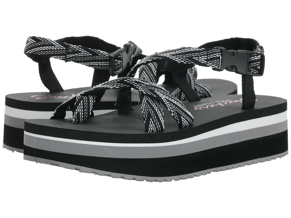SKECHERS - Whip It - Glastonbury (Black) Womens Shoes