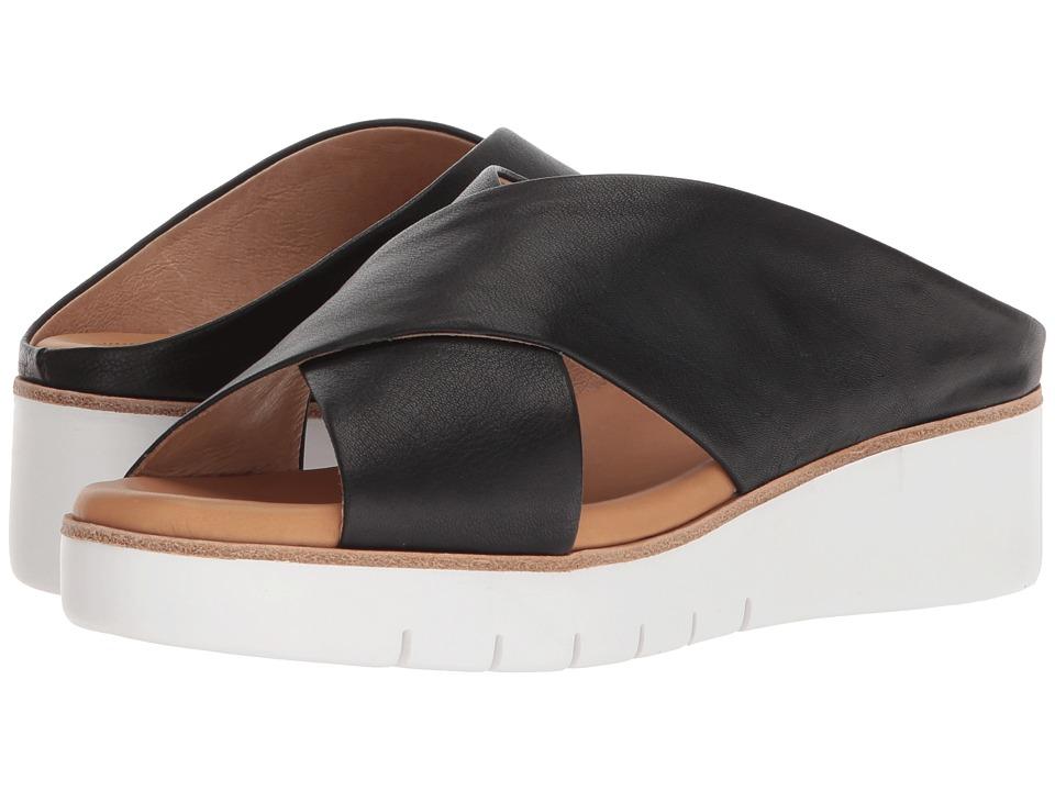 CC Corso Como Brunna (Black Leather) Slides