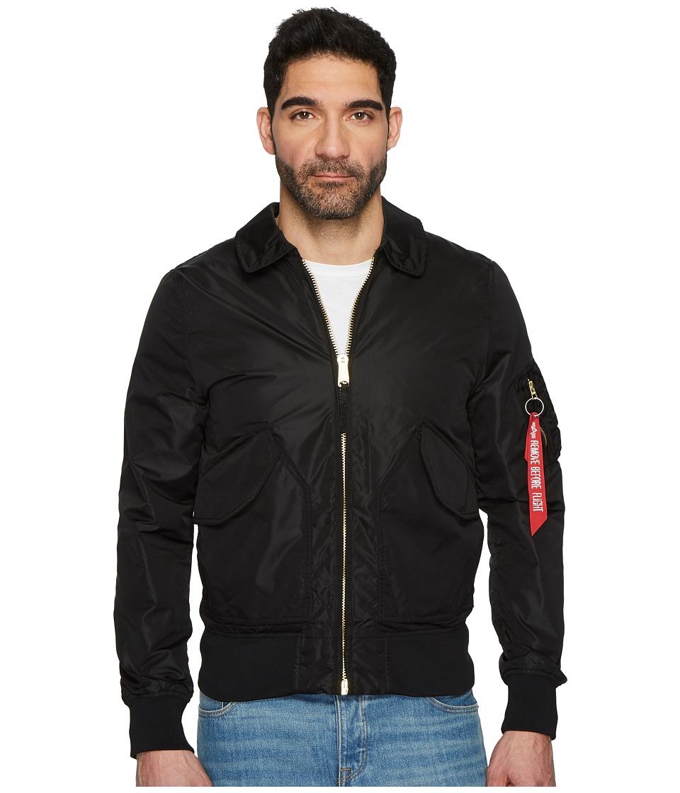Image of Alpha Industries - CWU 36P MOD (Black) Men's Coat