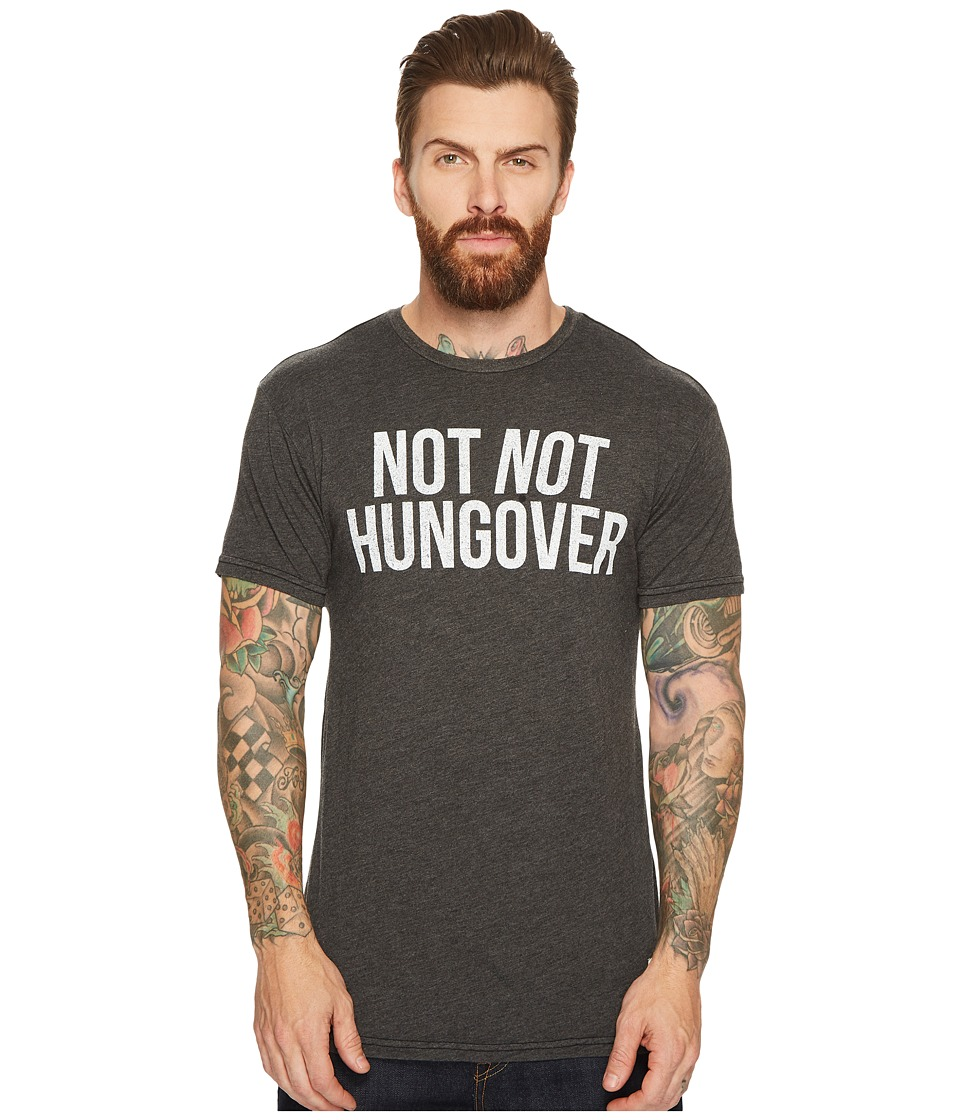 The Original Retro Brand - Not Not Hungover Short Sleeve Heathered T