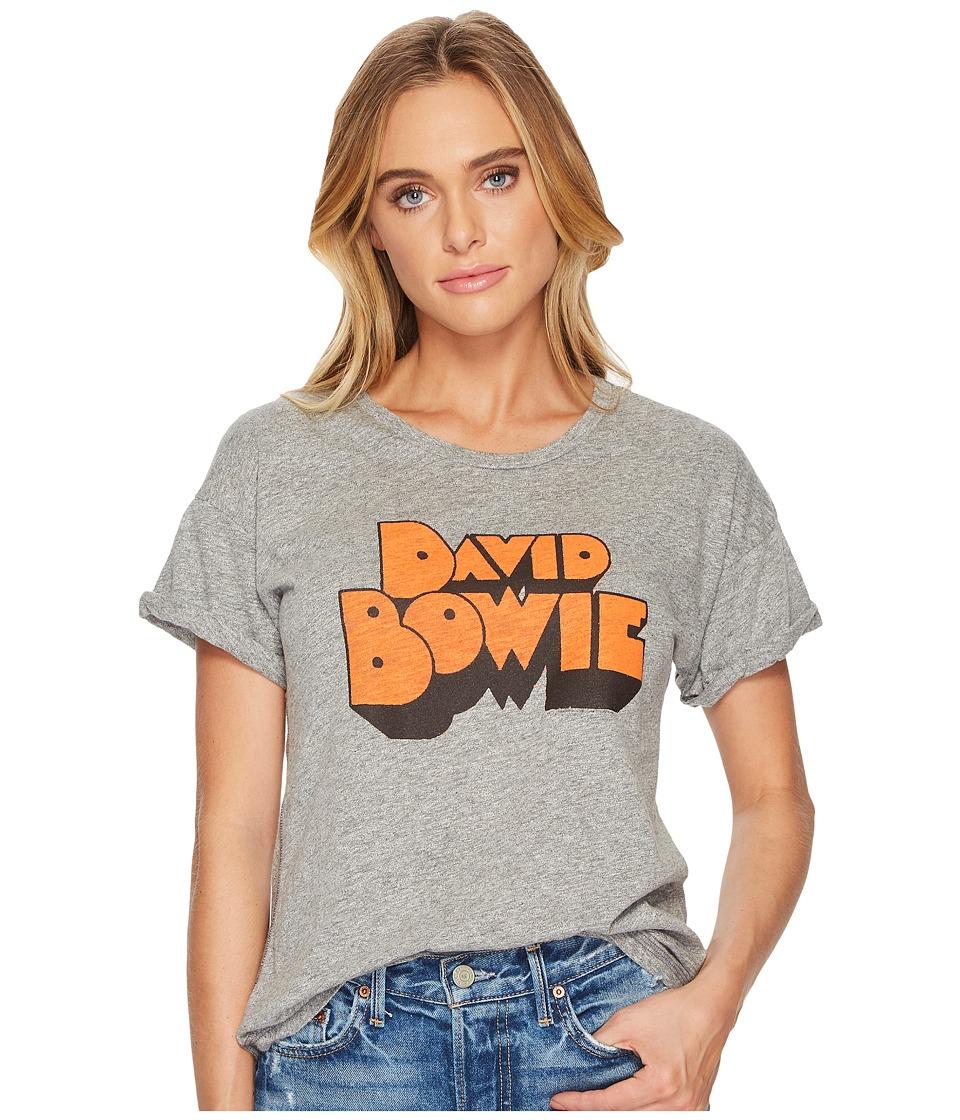 The Original Retro Brand - David Bowie Rolled Sleeve Crew Neck T