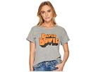 The Original Retro Brand David Bowie Rolled Sleeve Crew Neck T-Shirt