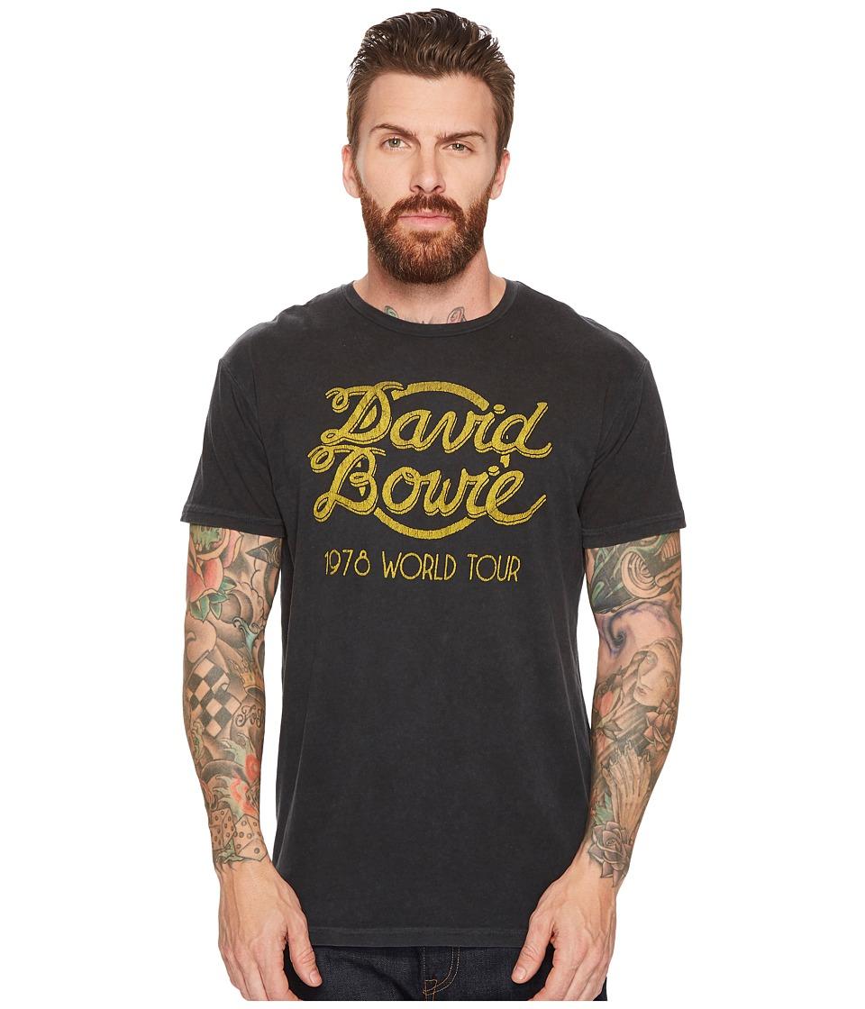 The Original Retro Brand - David Bowie World Tour Vintage Distressed Concert T