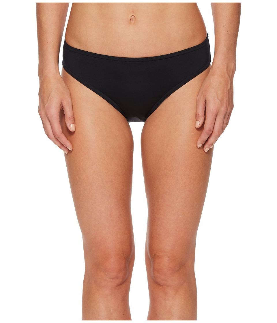 Jantzen Core Solids Full French Bikini Bottom (Black)