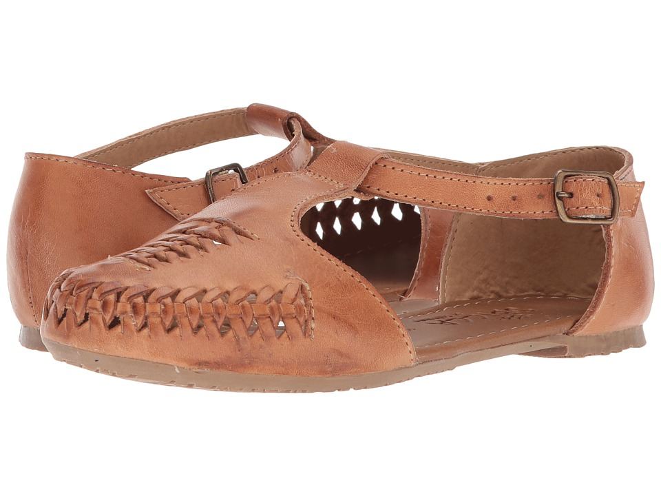 Vintage Sandal History: Retro 1920s to 1970s Sandals Sbicca Whipped Tan Womens Sandals $69.95 AT vintagedancer.com