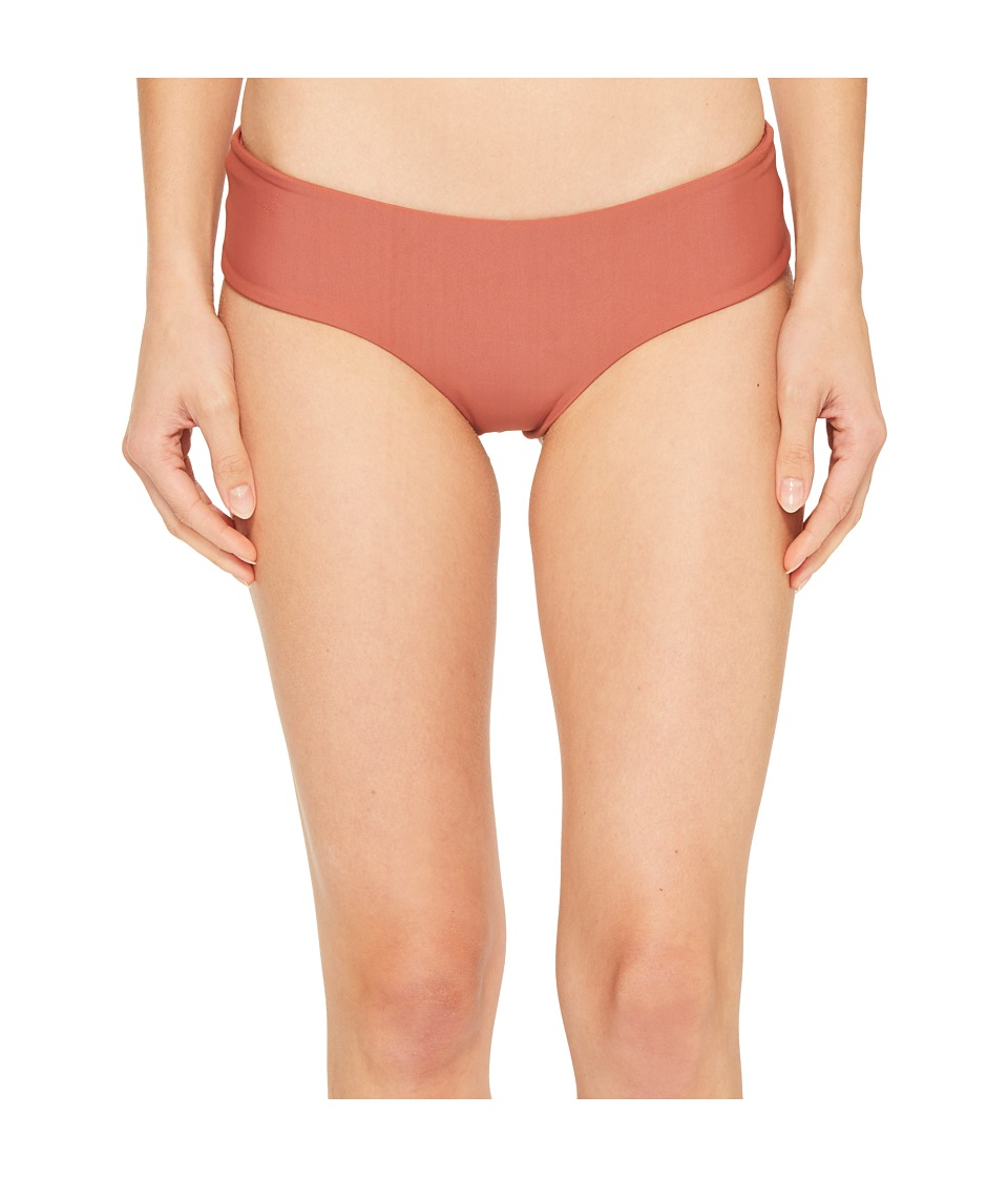 MIKOH SWIMWEAR - Bondi Bottom (Lychee) Womens Swimwear
