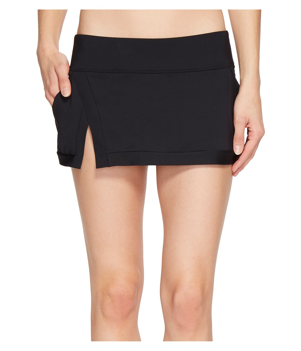 Jantzen Core Solids Skirt with Panty (Black)