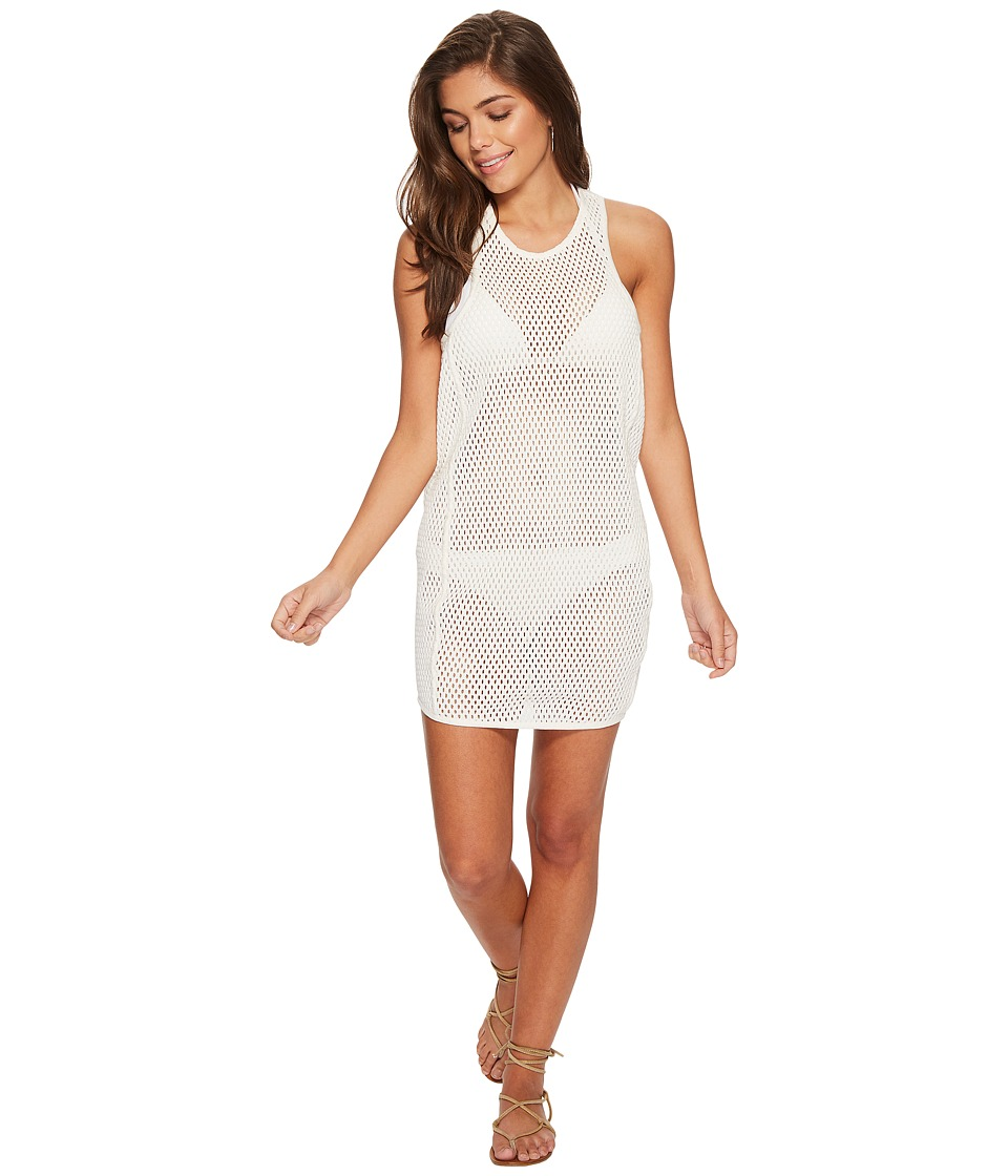 MIKOH SWIMWEAR Bahia Mesh Dress Cover-Up 4BAH1C-100