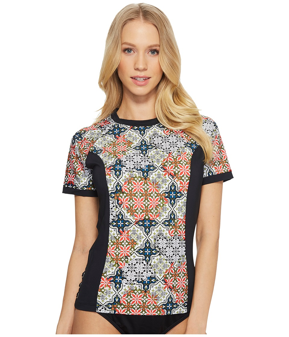 Jantzen Patchwork Tiles Swim Shirt JPSS8129-001