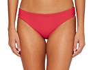 Red Carter Splice Dice Reversible Hipster Bikini Bottom