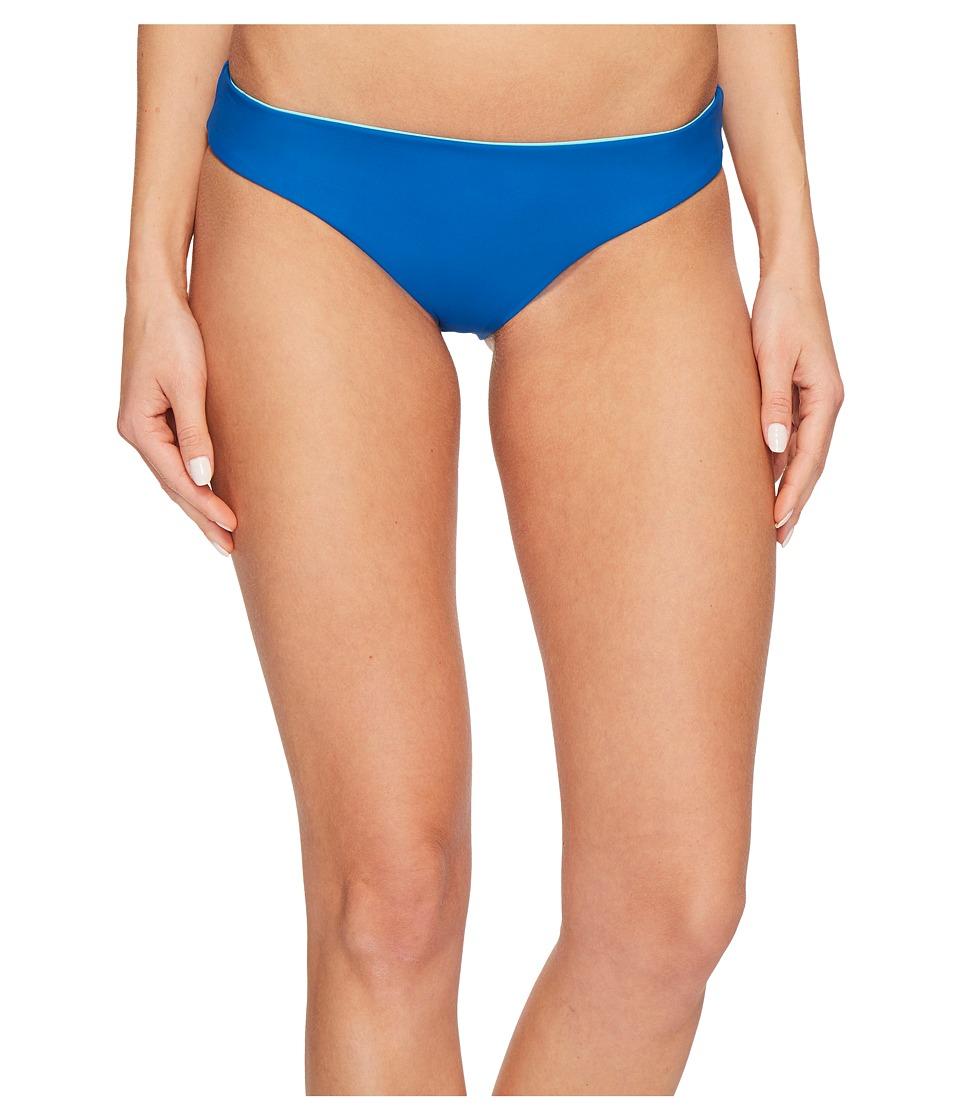 Red Carter Splice Dice Reversible Hipster Bikini Bottom (Vision) Women