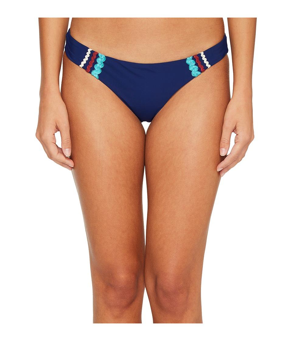 Red Carter Ipanema Basic Scoop Bikini Bottom (Navy)