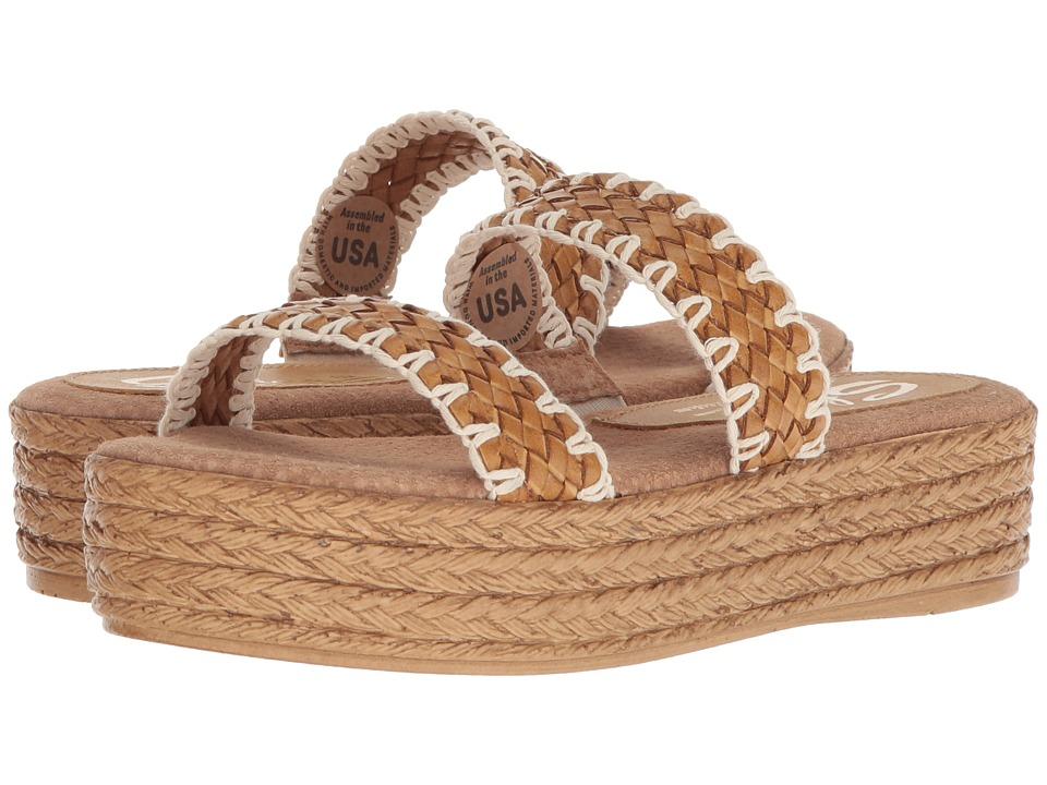 Vintage Sandal History: Retro 1920s to 1970s Sandals Sbicca Winston Tan Womens Sandals $59.95 AT vintagedancer.com
