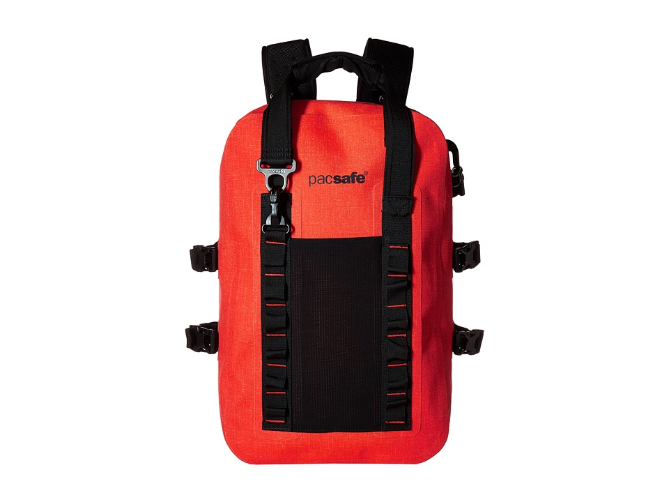 Pacsafe - Dry 25L Anti-Theft Splashproof Backpack (Orange) Backpack Bags