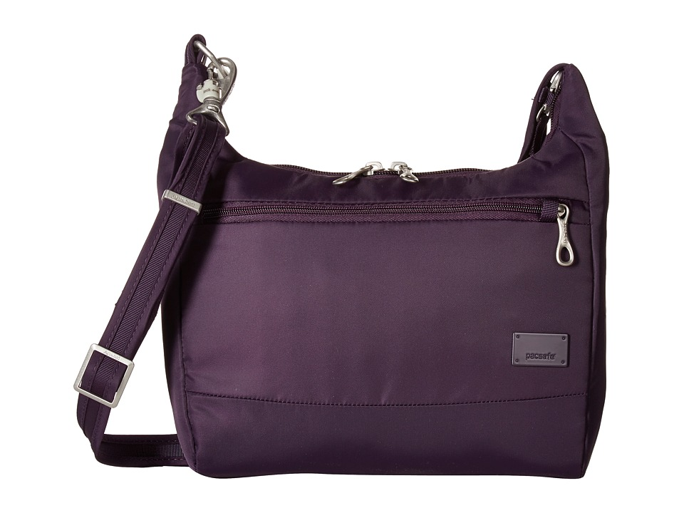 Pacsafe - Citysafe CS100 Anti-Theft Travel Handbag (Mulberry) Handbags