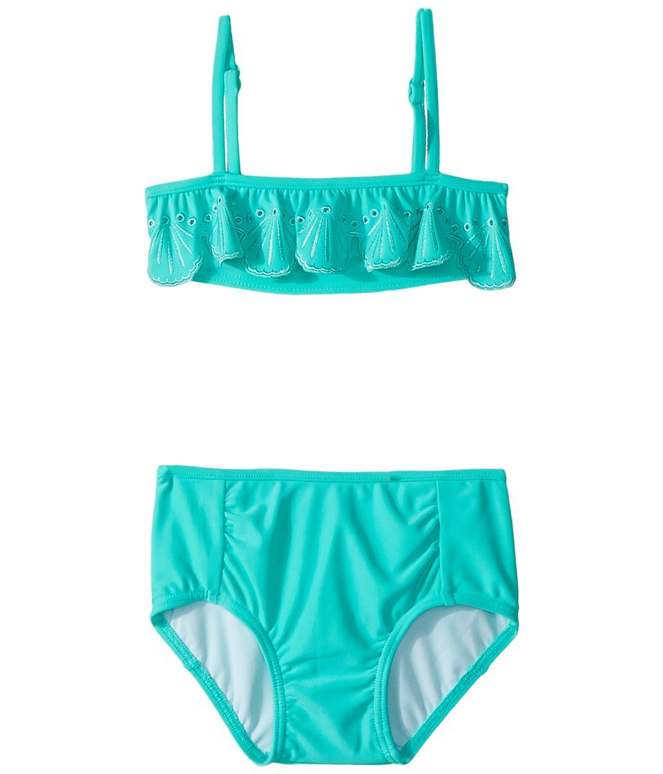 Seafolly Kids Sweet Summer Frill Mini Tube Bikini Set (Infant/Toddler/Little Kids) (Bahama Blue) Girl