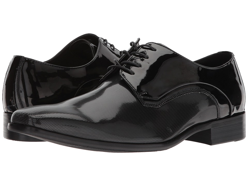 Kenneth Cole Reaction - News Oxford (Black) Mens Lace Up Cap Toe Shoes