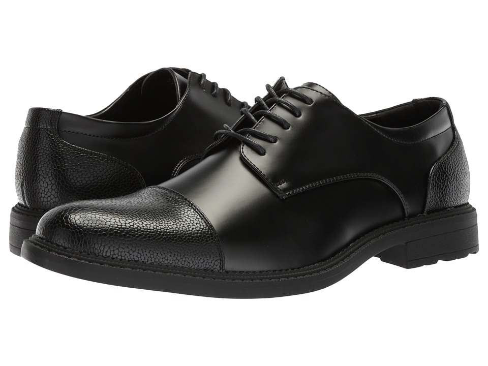 Kenneth Cole Reaction - Cellar Oxford (Black) Mens Lace Up Cap Toe Shoes