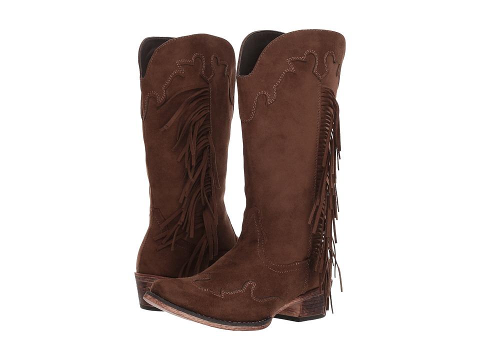 Roper Brianna (Brown) Cowboy Boots