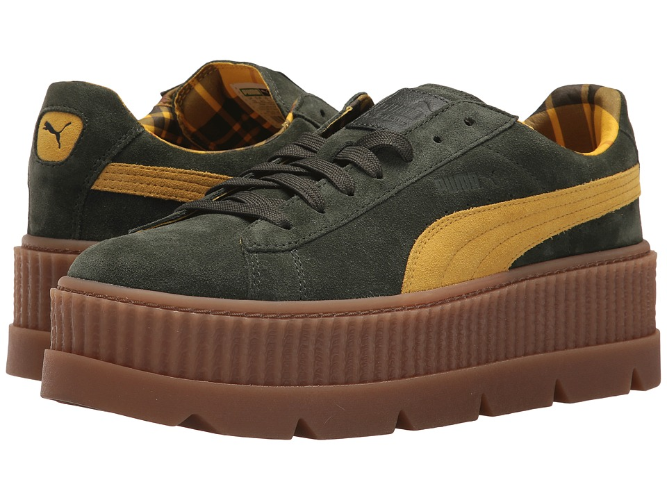 PUMA - Cleated Creeper Suede (Rosin/Lemon/Vanilla) Mens Shoes