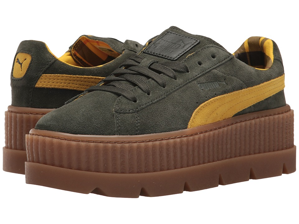 PUMA Cleated Creeper Suede (Rosin/Lemon/Vanilla) Women